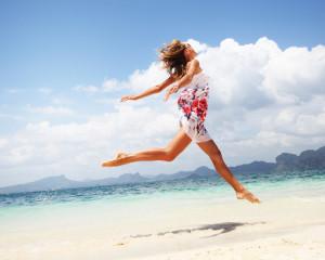 Фитнес на пляже: худеем, отдыхая