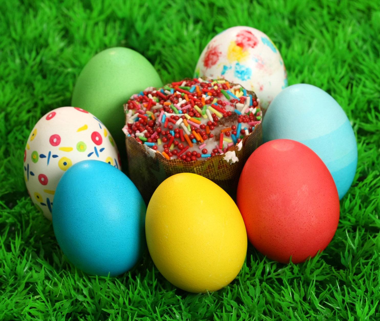 Натуральные безопасные красители для пасхальных яиц