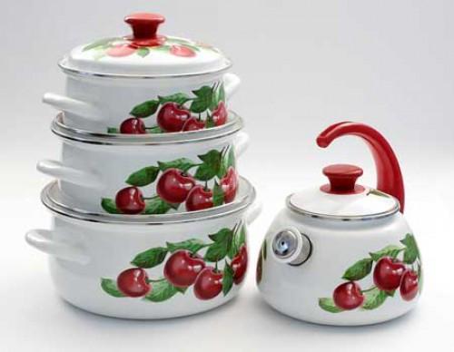 Как ухаживать за эмалированной посудой
