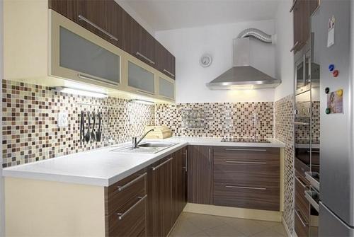 Мозаичный фартук для кухни