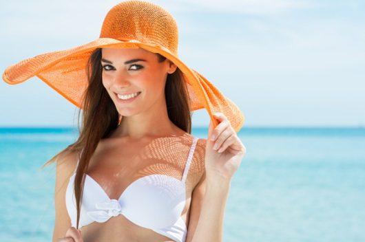 шляпа для пляжа