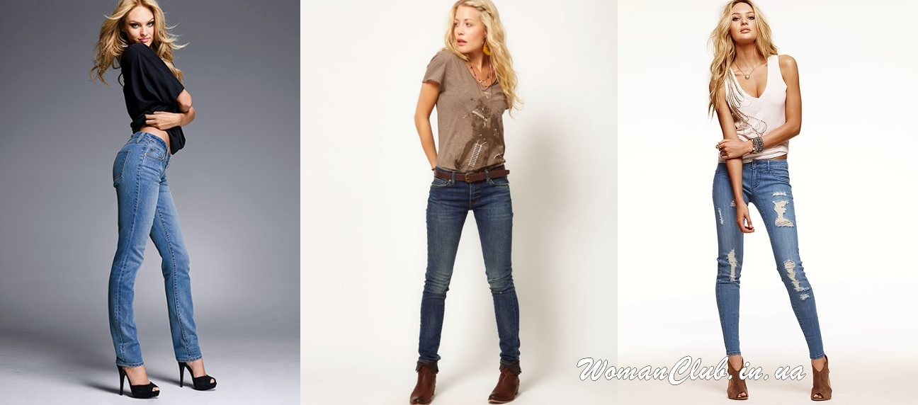 Что нравится мужчинам - облегающие джинсы