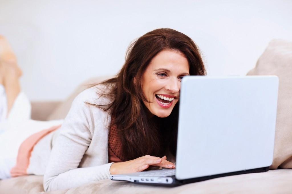 Онлайне женщины в