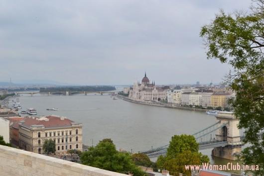 Будайская крепость - вид на Дунай