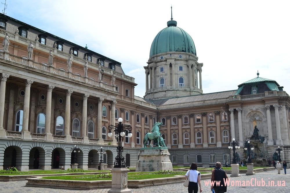 достопримечательности Будапешта - Будайская крепость