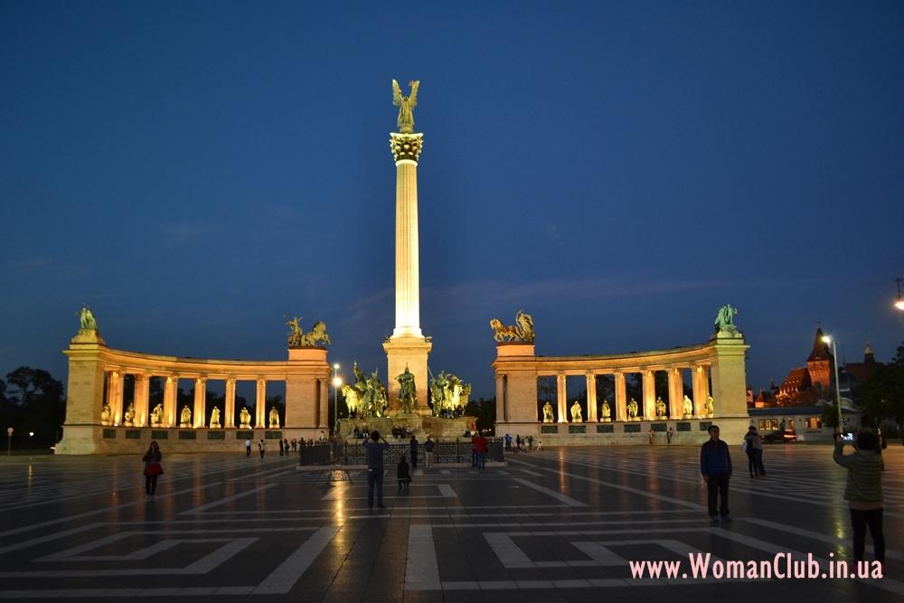 Что посмотреть в Будапеште за 3 дня - площадь Героев