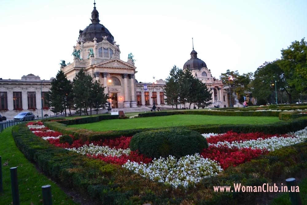 Что посмотреть в Будапеште за 3 дня - купальни Сечени