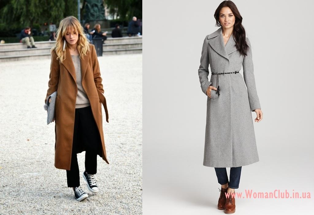 как подобрать обувь к макси пальто