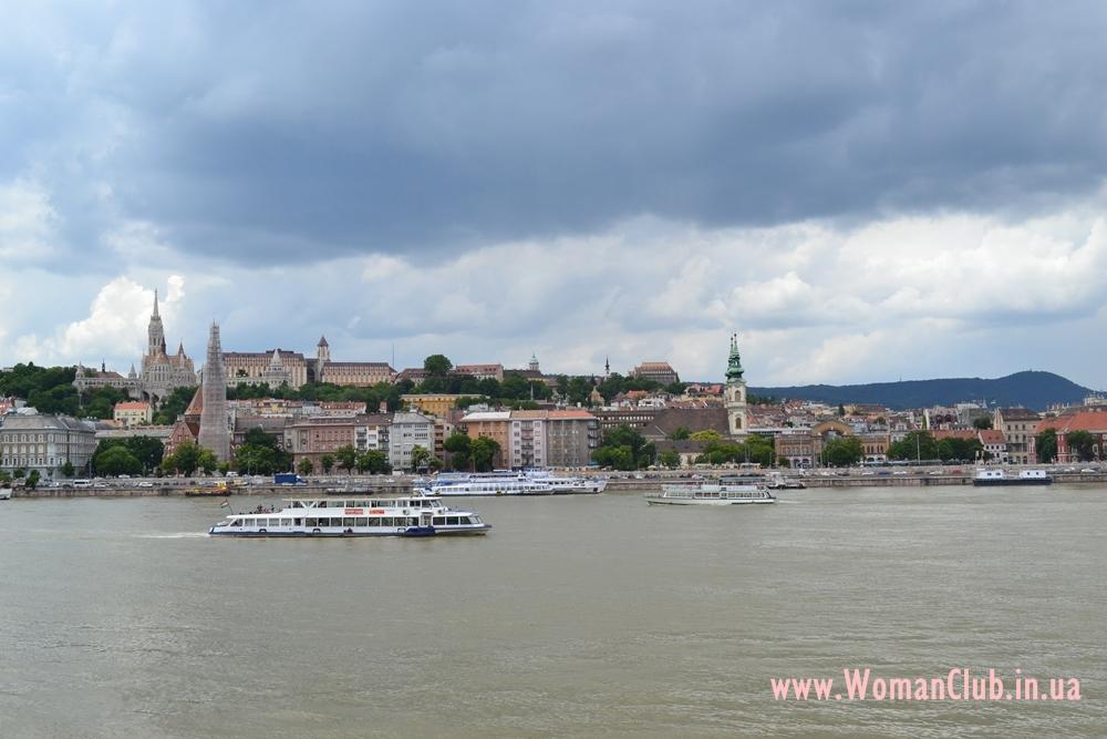 набережная Будапешта