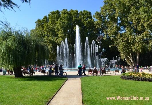 Будапешт - поющий фонтан