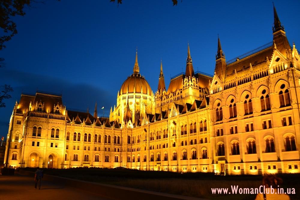 Что посмотреть в Будапеште за 3 дня - здание венгерского Парламента