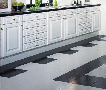 керамическая плитка для кухонного пола