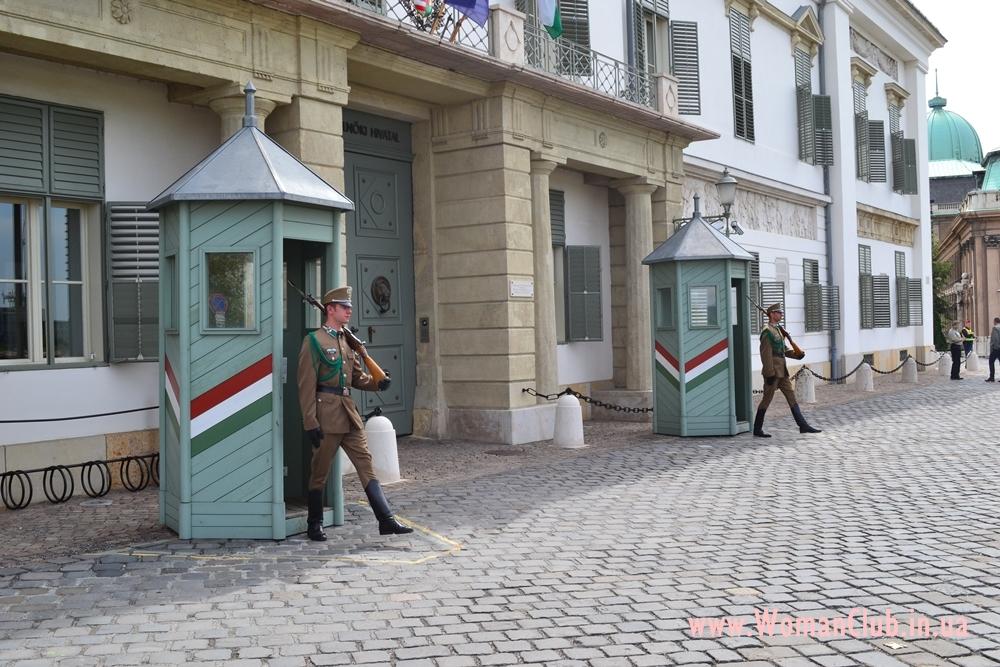достопримечательности Будапешта - президентский дворец