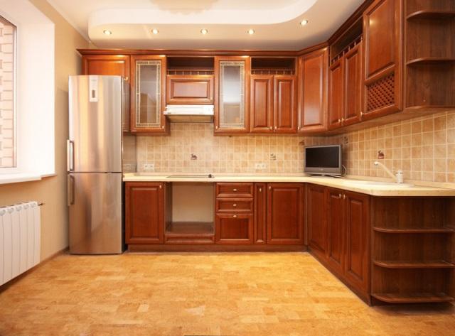 пробковые полы для кухни