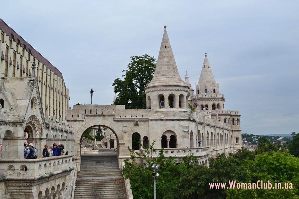 достопримечательности Будапешта - Рыбацкий бастион