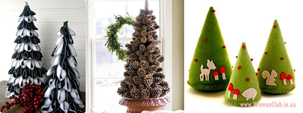необычные новогодние елки 2015