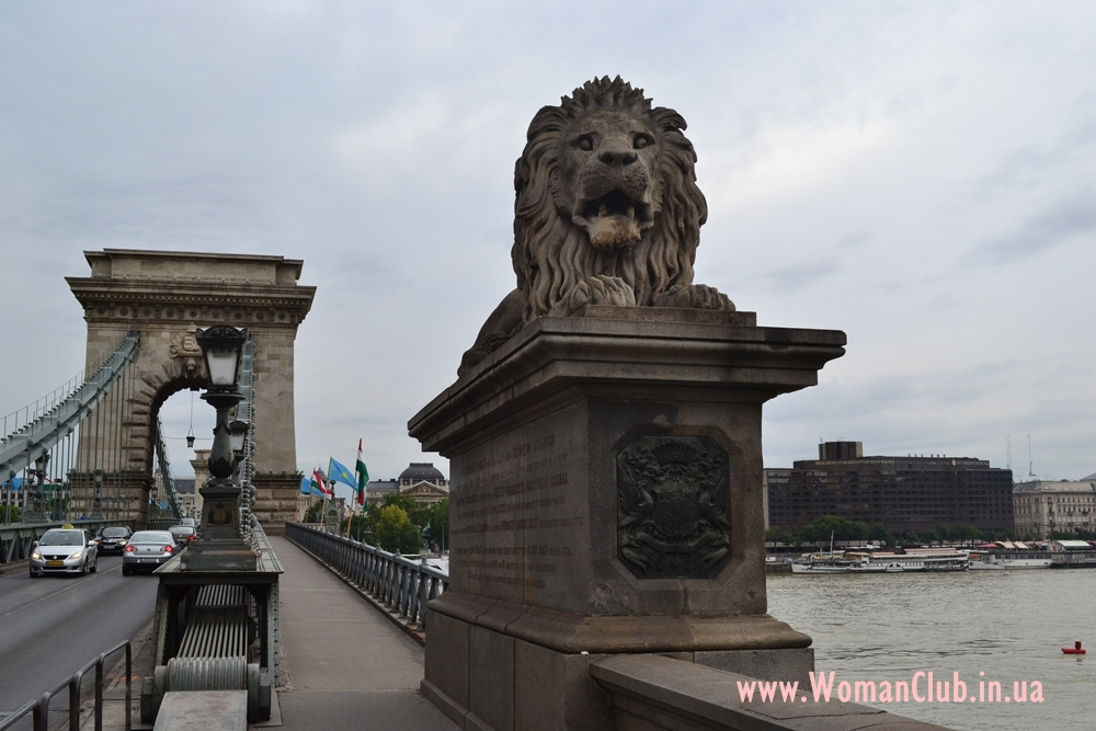 достопримечательности Будапешта - Цепной мост