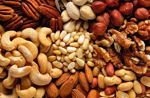 натуральные энергетики - орехи