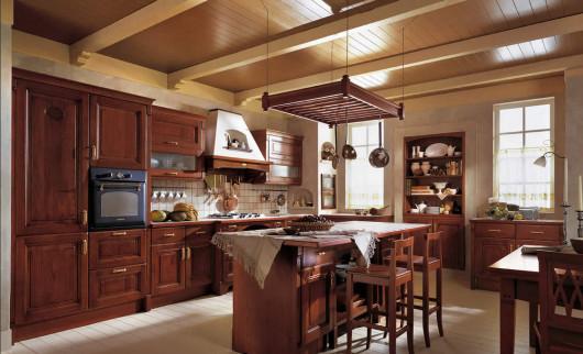 мебель для кухни в деревенском стиле