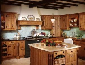 Кухня в деревенском стиле — дизайн (фото)