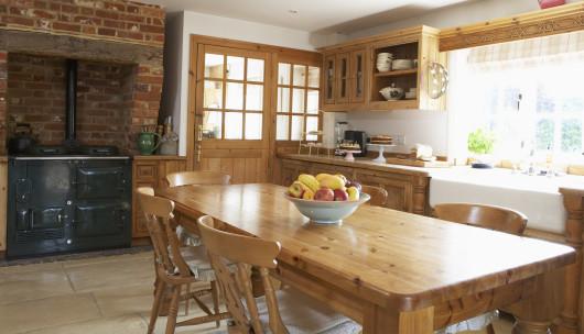стены для кухни в кантри-стиле