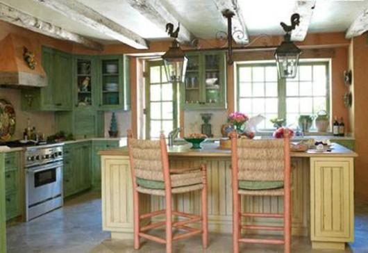 основные характеристики деревенского стиля в кухне
