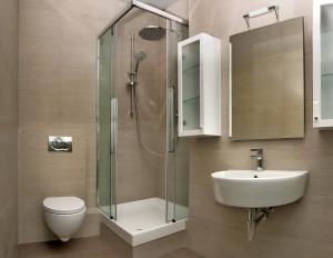 Как визуально увеличить маленькую ванную комнату