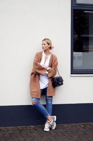 С чем носить рваные джинсы (ФОТО)