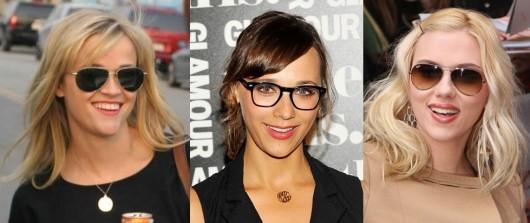 очки для треугольного лица