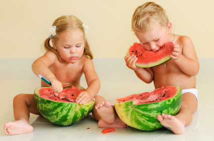 какие арбузы безопасно давать ребенку