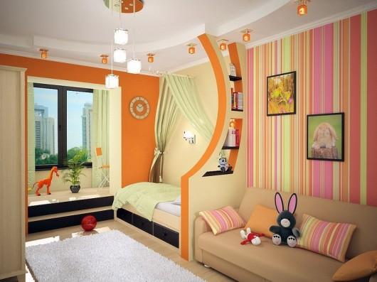 планировка детской комнаты на двоих