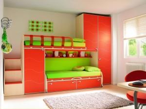 Детская комната на двоих детей: дизайн, планировка, зонирование (ФОТО)