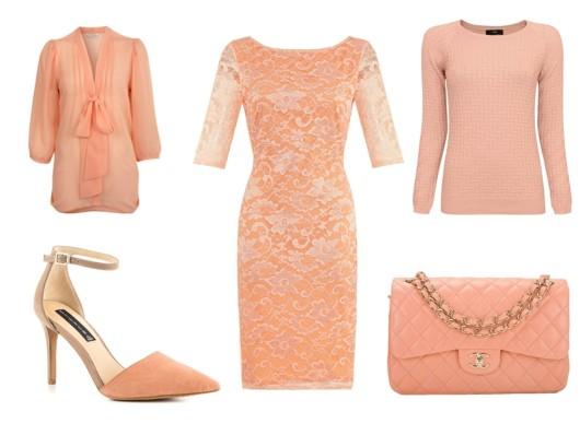 модные цвета 2016 - персиковый