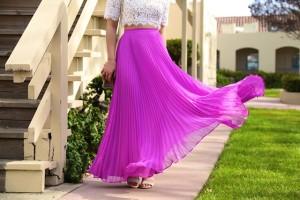 С чем носить плиссированную юбку (ФОТО)