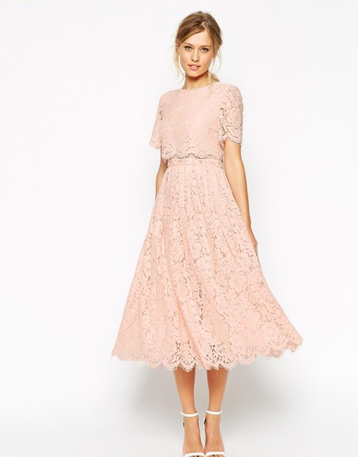 кружевные платья 2016