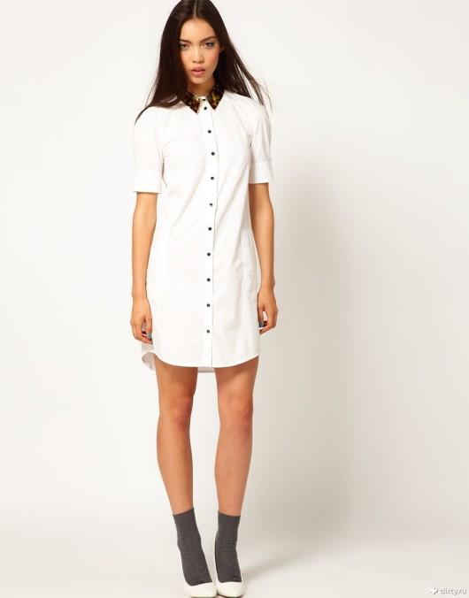 платье-рубашка 2016