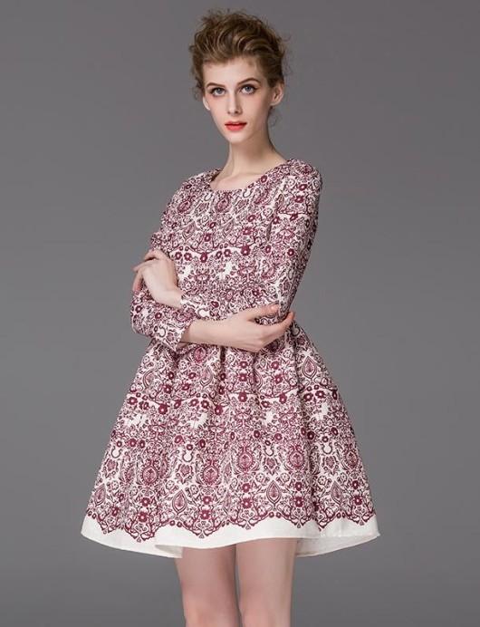 модные платья 2016 принты