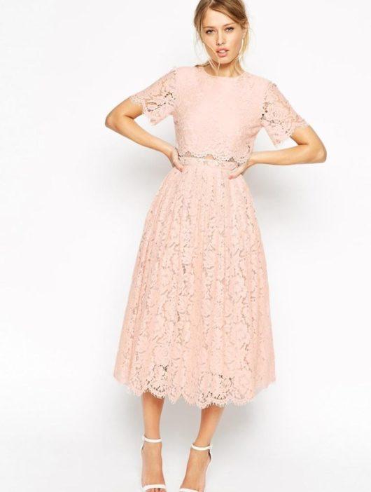 Модные летние платья 2016 для женщин за 40 (ФОТО) кружева