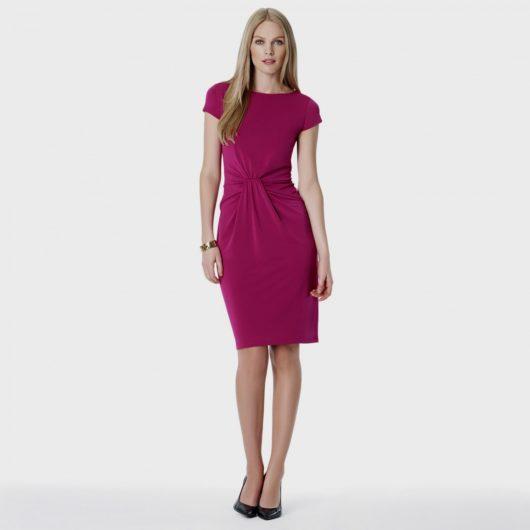 Модные летние платья 2016 для женщин за 40 (ФОТО) приталенные