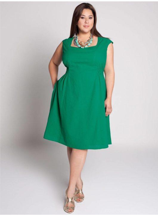 платье футляр для полных