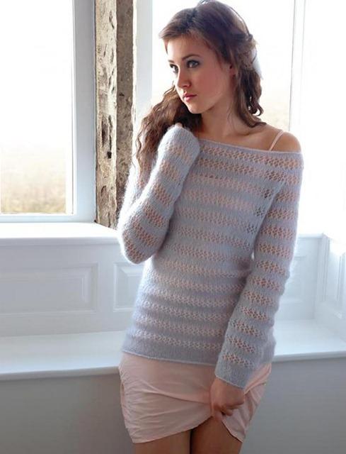 свитер мохер