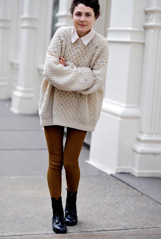 модные женские свитера оверсайз