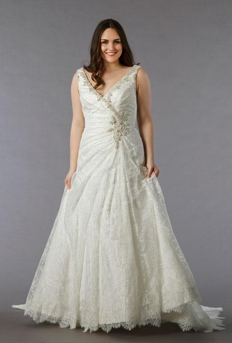 свадебные платья с запахом