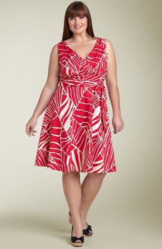летние платья с запахом