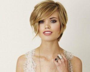 женские стрижки на короткие тонкие волосы