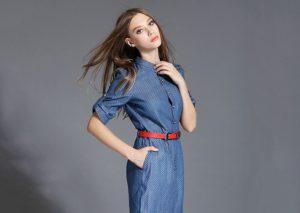 С чем носить джинсовое платье: выбираем обувь и аксессуары (ФОТО)