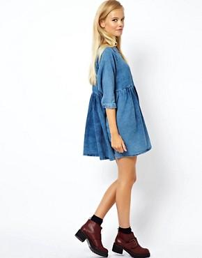 Джинсовые мини-платья