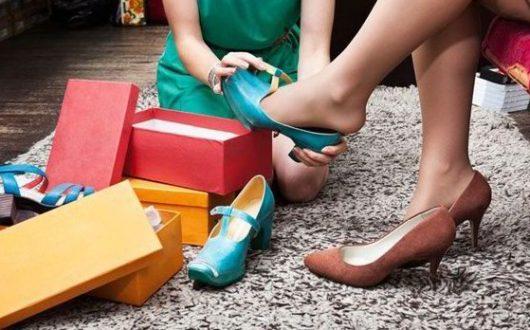 сон мерить туфли в магазине