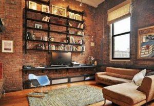 Дизайн гостиной в стиле лофт (ФОТО)