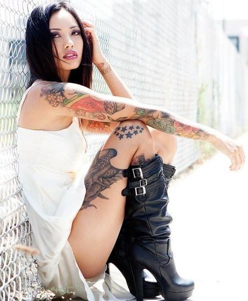 Как ухаживать за татуировкой в первые дни